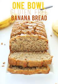 Coconut Flour Bread Recipe For Bread Machine 1 Bowl Gluten Free Banana Bread Minimalist Baker Recipes