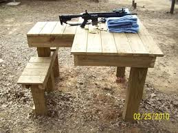 Portable Bench Rest Shooting Stand Building A Shooting Table Ruger Forum