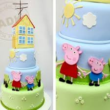 George Pig Cake Decorations 58 Best Peppa Pig Images On Pinterest Pigs Peppa Pig Cakes And