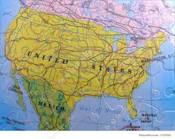 Map North America Globe Map Puzzle North America Picture
