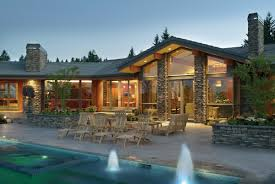 house plans with large windows pacific northwest home designs both homes were designed by amda