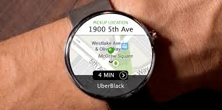 uber for android app now available for smartwatches running android wear 2 0