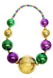 big mardi gras our mardi gras big necklace is a bead at 54in in length