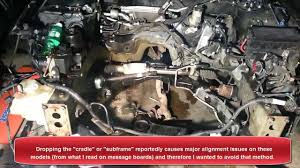 mazda 6 ford fusion engine swap follow up pull from the top