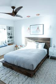 Wood Platform Bed Frames Mr Kate Diy Reclaimed Wood Platform Bed