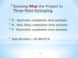 Complexity Point Estimation Template by Project Management X470 Ppt Download