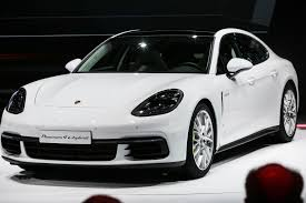 porsche panamera hybrid black the evolution of the porsche panamera plug in e hybrid