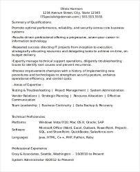 employment resume examples wowknee