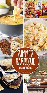 summer barbecue meal plan for father u0027s day tidymom
