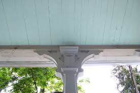 color diary blue porch ceilings huffpost