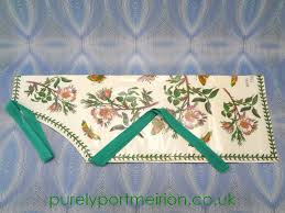 buy portmeirion botanic garden pvc apron dog rose