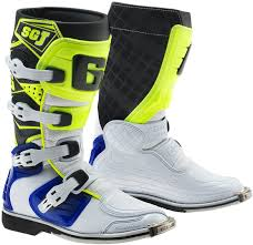 gaerne sg12 motocross boots gaerne sg 12 botas de motocross off road blanco rojo zapatillas