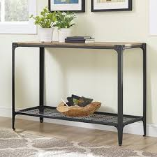 Wood Sofa Table by Extra Long Console Table Wayfair