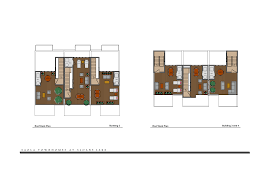 House Plans With Rooftop Decks Site Plan U2013 Saola Townhomes