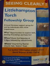 Support Groups For The Blind Angmering Baptist Church Torch Trust Group