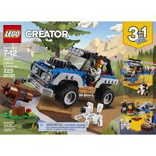 lego jeep lego creator outback adventures 31075 lego toys