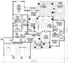 New Floor Plan La Casa Bella 9167 3 Bedrooms And 3 5 Baths The House Designers