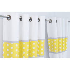 yellow blackout curtains hadley stripe blackout lined eyelet