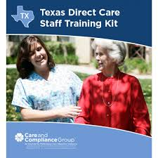 texas direct care staff training kit oncourse learning healthcare