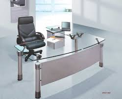White Modern Desks Decorative Modern Glass Top Desk 9 Office Alluring White With