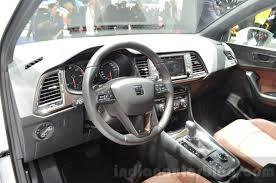 seat ateca 2016 seat ateca interior at the geneva motor show live indian autos blog