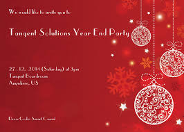 exceptional year end party invitation sample especially unique