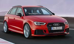 audi rs 3 audi rs3 sportback facelift rendering should preview 2017 model