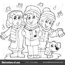 christmas carols clipart 1135347 illustration by visekart