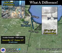 Wildfire Chicago Lincolnshire by Recap Of February 24 2016 Heavy Snow