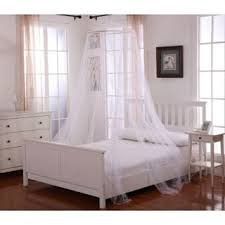 Bed Canopy Frame Woven Polyester Four Point Bed Canopy 76 U0027 U0027 X 84 U0027 U0027 X 96 U0027 U0027 Free