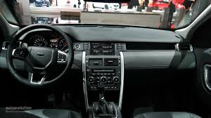 land rover range rover sport 2015 interior 2015 land rover discovery sport makes us debut at la auto show