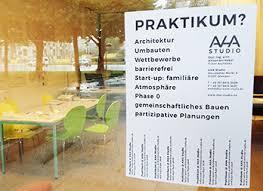 praktikum architektur praktikum im architekturbüro aha studio in dresden