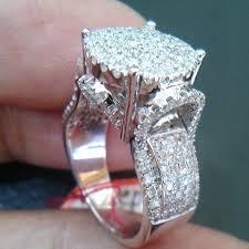 model cincin diamond 528 cincin wanita berlian eropa ring emas putih