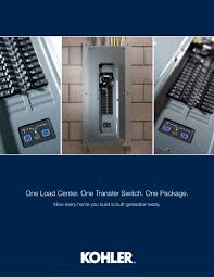 intelligent load center brochure kohler power systems pdf