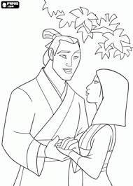 disney princesses coloring pages mulan