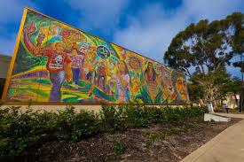 murals mario torero chicano legacy 40 anos university of california san diego campus glass mosaic