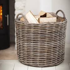 large round wicker basket round designs