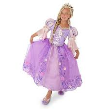 disney store limited edition deluxe tangled rapunzel costume live
