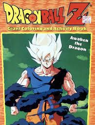 awaken dragon dragon ball giant coloring activity book