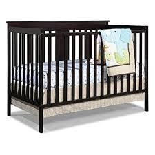 Fixed Side Convertible Crib Stork Craft Mission Ridge Fixed Side Convertible Crib Wall S