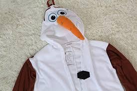 Kigurumi Halloween Costume Newcosplay Anime Unisex Olaf Pyjamas Kigurumi Halloween