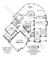 Lake Cottage Floor Plans Lake Timber Cottage House Plan Craftsman House Plans