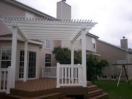 pergolas help to shade a deck and provide u0027area definition u0027 as