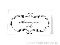 13 best place card templates images on pinterest card templates