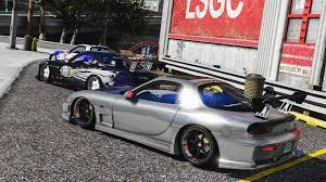 widebody rx7 mazda rx7 fd3s add on replace tuning livery template