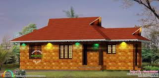 2 bedroom laterite stone traditional home kerala home design and