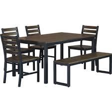 modern bench dining room sets allmodern