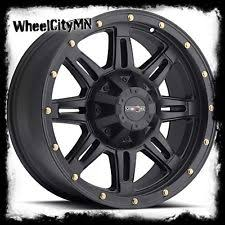 toyota tundra 18 inch wheels 18 inch 18x9 vision 400 incline matte black wheel 5x150 25 ebay