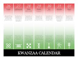download kwanzaa calendar calendar templates free