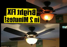 hunter ceiling fan wattage limiter how to fix a hunter ceiling fan 1 2 min fix for dim ceiling fan